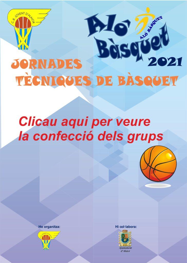 Grups alo basquet 2021